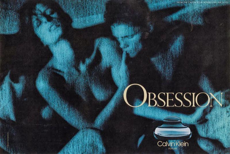 1985+calvin+klein+obsession+perfume+ad